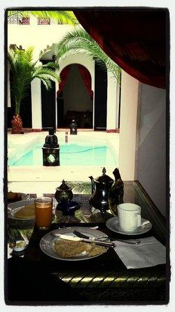 Riad Fabiola: Un Petit Déjeuner Sublime