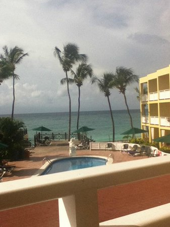 Sea Breeze Beach Hotel: view from room