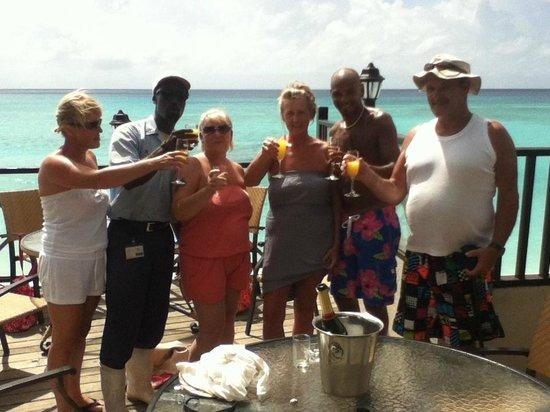 Sea Breeze Beach Hotel: anniversary