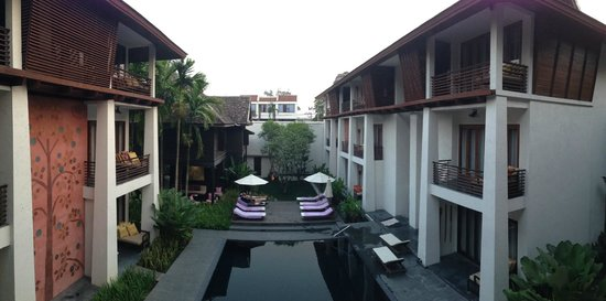 U Chiang Mai: view from our room