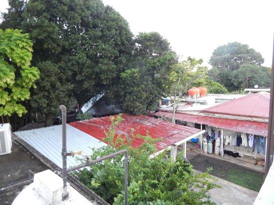 Oxtankah : View from my kitchen window behind hotel