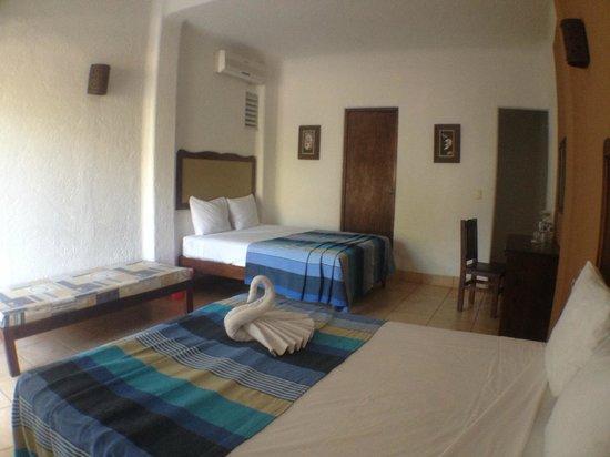 Hotel Bahia Huatulco: Habitación Doble
