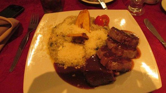 Hotel Venetur Alba Caracas : restaurante de comida italiana...buenisima