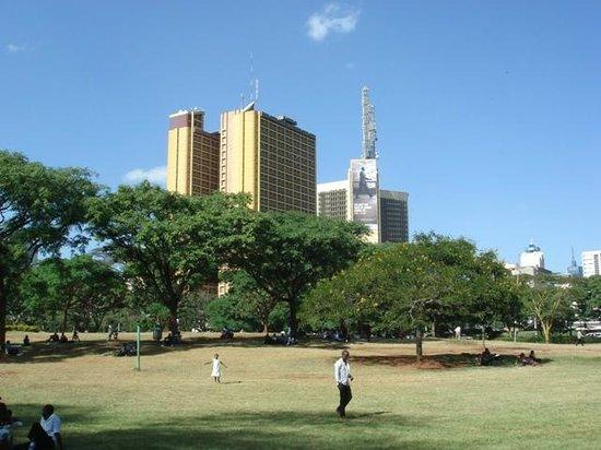 Uhuru Gardens Memorial Park: Vue du parc