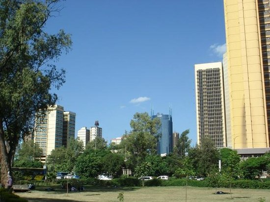 Uhuru Gardens Memorial Park: View from the park