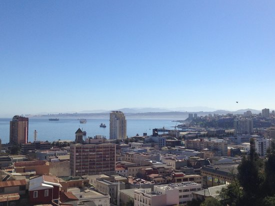 Valparaiso Experience Apartments: View from Ecco Apartment