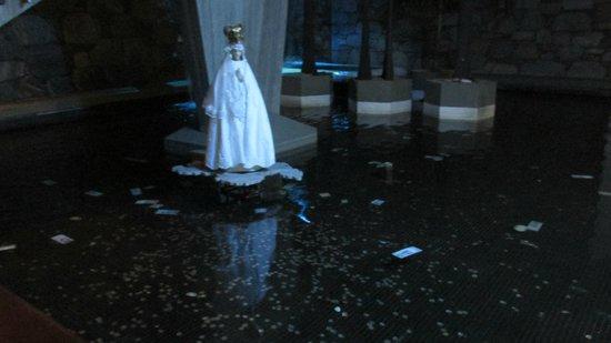 Hotel Venetur Alba Caracas: virgen a la que se le piden deseos