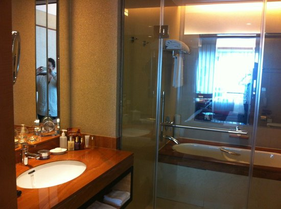 Kerry Hotel Pudong Shanghai: BATHROOM