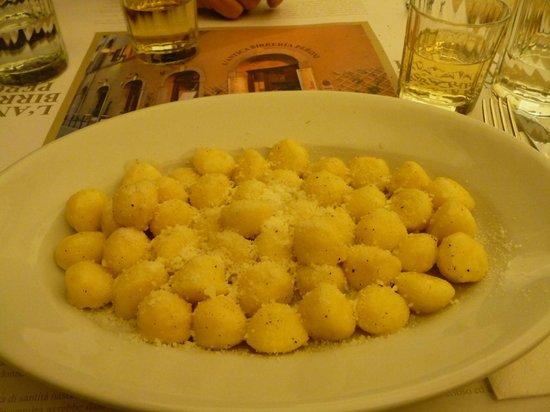 L'Antica Birreria Peroni: Gnocchis