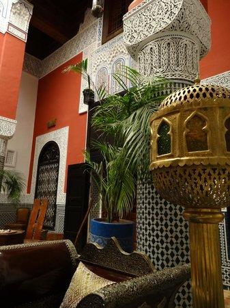 Riad d'Or : Patio Interieur