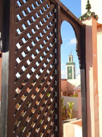 Riad d'Or: Vue terrasse