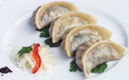 Chen: Grillés de raviolis aux fines herbes chinoises