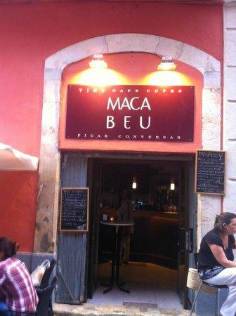 MacaBeu Bar y a disfrutar!