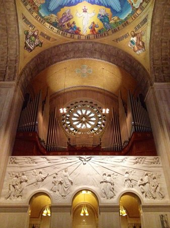 Basilica of the National Shrine of the Immaculate Conception : Huge organ!