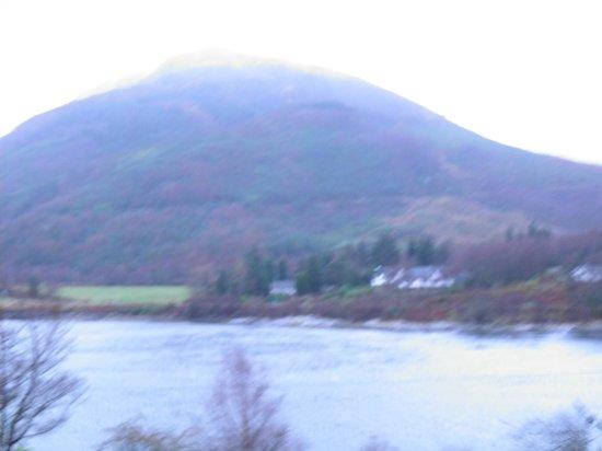 The Loch Leven Hotel : View across the loch