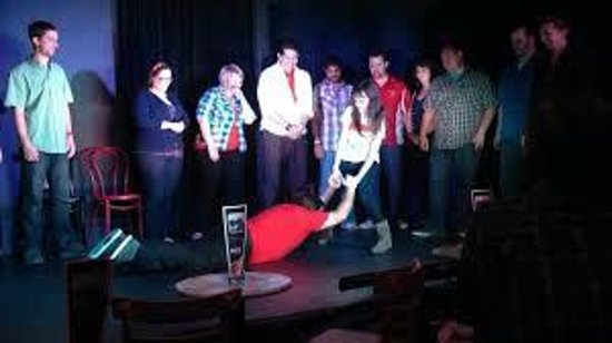 Finest City Improv: This team is called Red Squared.