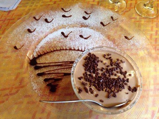Coltano, Italy: Dulcis in fundo....... Tiramisu alla nutella!