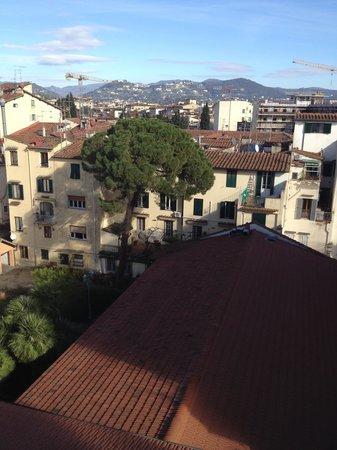 Hotel Joli : Вид с нашего балкона