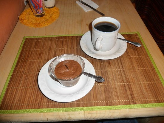 L'Arrabbiata : Chocolate Mousse with Coffee