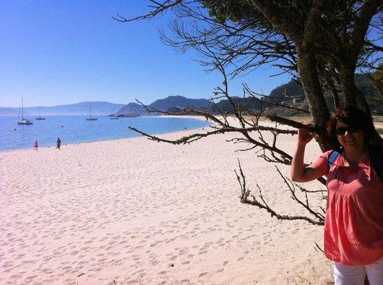 Playa de Rodas: Islas Cíes, paraíso terrenal