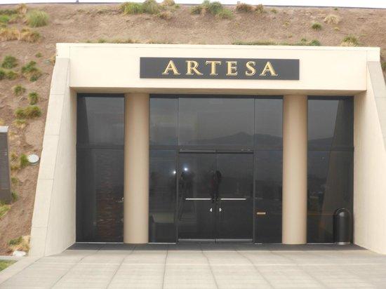 Artesa Vineyards & Winery : Entrance to Aratesa Winery