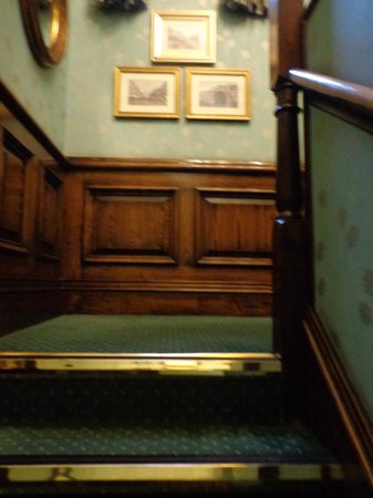 The Sanctuary House Hotel : stairs to rooms