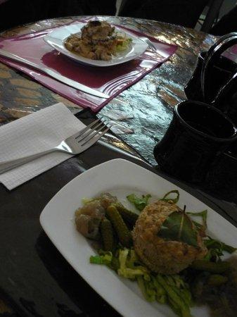 Restaurant La Bamba -: vol au vent & terrine