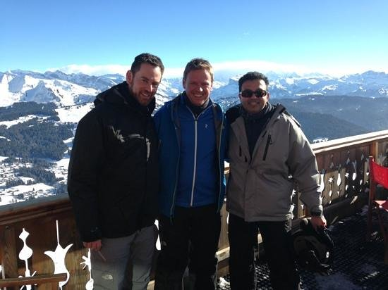 La Grande Ourse : the 3 brother-in-laws on tour ! gives a taste of the view on offer.