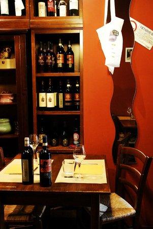 Osteria Ars Vivendi: saletta