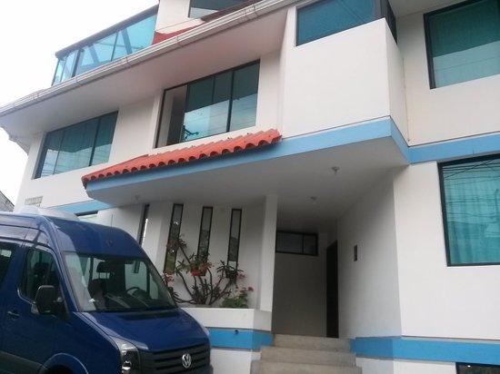 Hostal Guapulo Inti: entrada