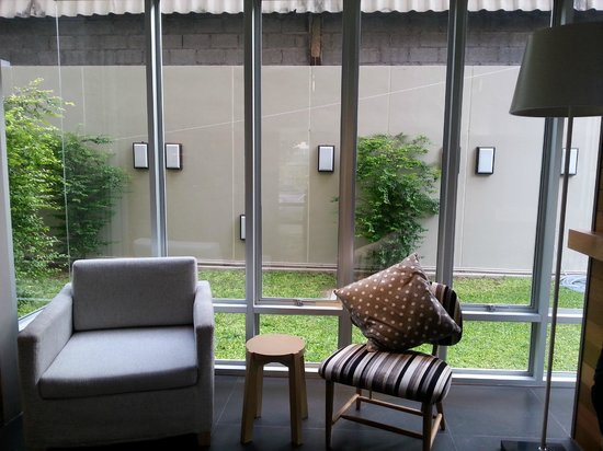 Lemontea Hotel: nice exterior decor