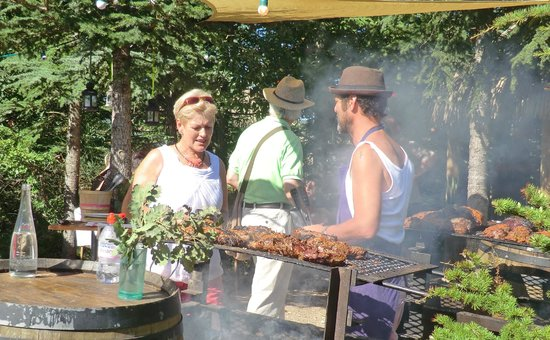 Domaine Gayda: The BBQ