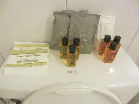 Lemontea Hotel: toiletries