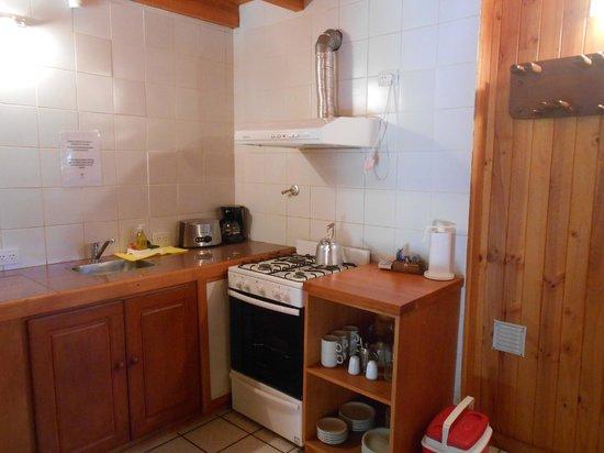 Apart Hotel Del Tilo : Cocina