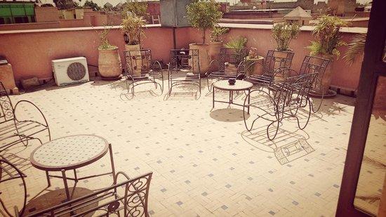 Palais Riad Calipau Marrakech: terrasse