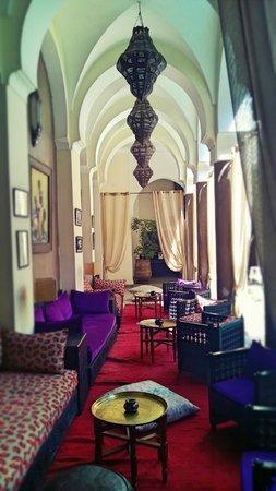 Palais Riad Calipau Marrakech : salon