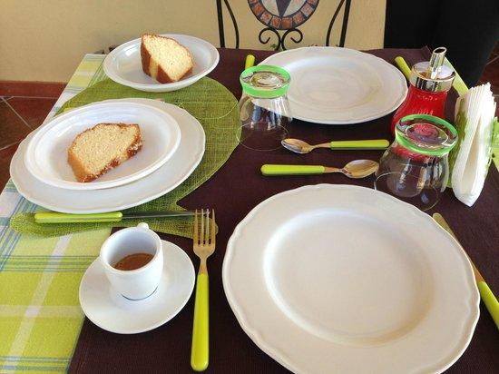 B&B Villa del Saraceno: colazione