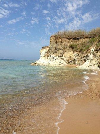 B&B Villa del Saraceno: spiaggia di realmente