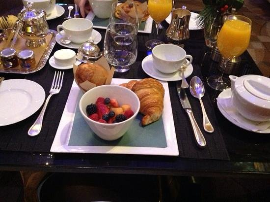 Hotel Le St-James: inclusive breakfast