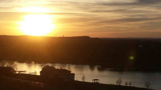 La Quinta Inn & Suites Marble Falls: Marble Falls - View from our balconey