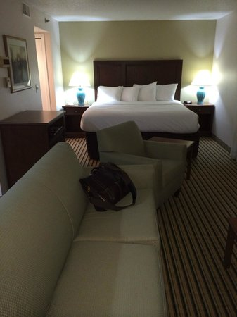Hawthorn Suites by Wyndham Troy MI: Comfortable bed