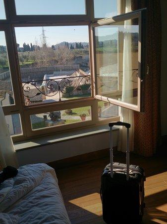 Hotel Mulino di Firenze : room window