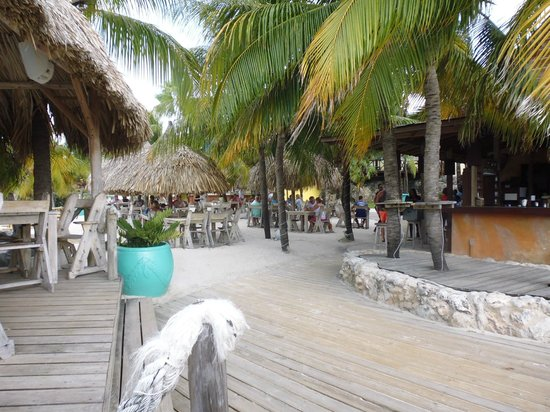 Lions Dive & Beach Resort Curacao: Vorm Hemmingway