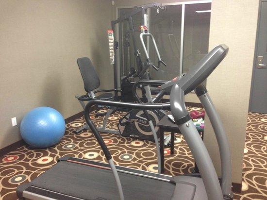 Quality Inn & Suites: Gym nul comme dans la plupart des hôtels