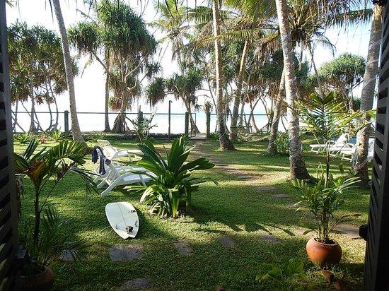 Villa Tissa Beach Resort: View from Room 3