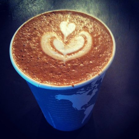 81301 Coffee House and Roasters: great latte at 81301 coffee and roasters