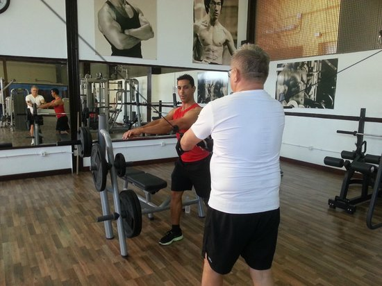 Mogán, España: A dedicated client with Nikolay Dobrev - Personal Trainer