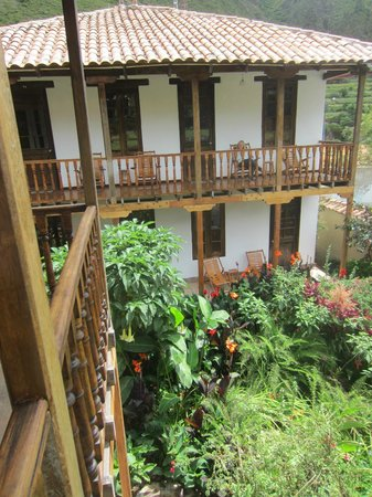 El Albergue Ollantaytambo: Top rooms in the back with great garden views