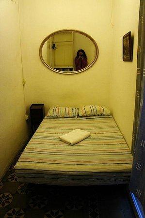 Pension Arosa: мой сингл, кровать удобная, но комната маленькая