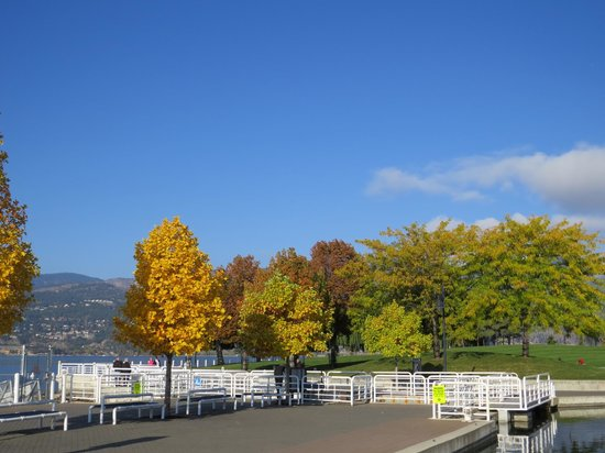 Delta Hotels by Marriott Grand Okanagan Resort : Fall is a nice time to visit